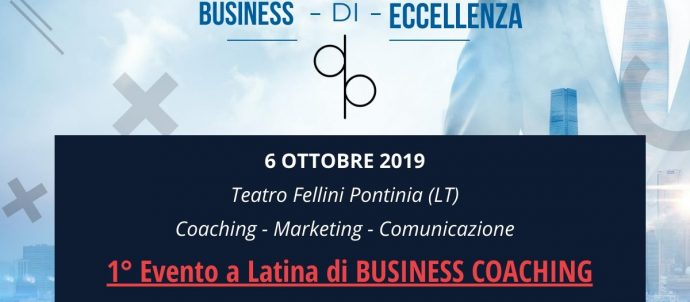 Evento Business Eccellenza a Pontinia Davide Paccassoni Mental Coach